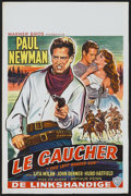 """Movie Posters:Miscellaneous, Paul Newman Lot (Various, 1958-1977). Belgian Posters (3) (14"""" X 22"""").. ... (Total: 3 Items)"""