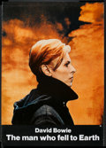 "Movie Posters:Science Fiction, The Man Who Fell to Earth (Cinema 5, 1976). New York One Sheet(26.5"" X 41.5""). Science Fiction.. ..."
