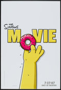 "Movie Posters:Animated, The Simpsons Movie (20th Century Fox, 2007). One Sheet (27"" X 40"")SS Advance Style A. Animated.. ..."