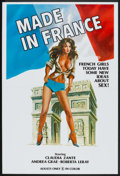 """Movie Posters:Adult, Made in France Lot (Unknown, 1970s). One Sheet (27"""" X 40"""") Flyer and Pressbook (11"""" X 17""""). Adult.. ... (Total: 3 Items)"""