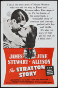 "Movie Posters:Sports, The Stratton Story (MGM, R-1955). One Sheet (27"" X 41""). Sports.. ..."