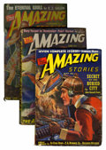 Pulps:Science Fiction, Amazing Stories Box Lot (Ziff-Davis, 1939-52) Condition: AverageGD.... (Total: 23 Items)