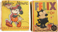 Platinum Age (1897-1937):Miscellaneous, Big Little Book Funny Animal Group (Whitman, 1933-36).... (Total: 2Items)