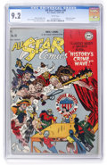 Golden Age (1938-1955):Superhero, All Star Comics #38 (DC, 1947) CGC NM- 9.2 White pages....