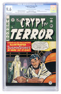 Golden Age (1938-1955):Horror, Crypt of Terror #19 Gaines File Copy 6/11 (EC, 1950) CGC NM+ 9.6Off-white to white pages....
