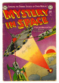 Golden Age (1938-1955):Science Fiction, Mystery in Space #15 (DC, 1953) Condition: VG....