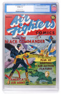 Golden Age (1938-1955):War, Air Fighters Comics #1 (Hillman Fall, 1941) CGC VF/NM 9.0 Off-whiteto white pages....