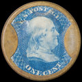 Encased Postage: , HB-28 EP-4a 1¢ Ayer's Sarsaparilla Medium Ayer's About New....