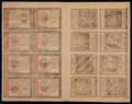 Colonial Notes:Continental Congress Issues, Continental Currency January 14, 1779 Double Sheet of Sixteen....