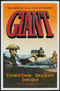"Movie Posters:Drama, Giant (Kino International, R-1982). One Sheet (27"" X 41""). Drama.. ..."