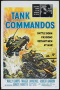 "Movie Posters:War, Tank Commandos (American International, 1959). One Sheet (27"" X41""). War.. ..."