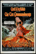 "Movie Posters:Historical Drama, The Ten Commandments (Paramount, R-1972). One Sheet (27"" X 41"").Historical Drama.. ..."