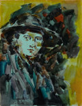 Fine Art - Work on Paper, KONSTANTIN ALEXEIVITCH KOROVIN (Russian, 1861-1939). Portfolio of Nine Color Sketches. Gouache on paper. 12 x 9-1/4 inch... (Total: 9 Items Items)