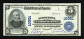 National Bank Notes:Pennsylvania, Aliquippa, PA - $5 1902 Plain Back Fr. 606 Aliquippa NB Ch. #10951. ...