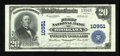 National Bank Notes:Pennsylvania, Woodlawn, PA - $20 1902 Plain Back Fr. 658 The First NB Ch. # 10951. ...