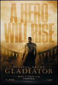 """Movie Posters:Action, Gladiator (DreamWorks, 2000). Bus Shelter (48"""" X 70"""") DS Advance. Action.. ..."""
