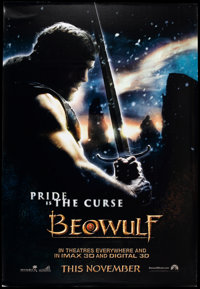 """Beowulf (Paramount, 2007). Bus Shelter (48"""" X 70"""") DS Advance. Fantasy"""