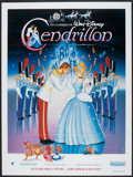 "Movie Posters:Animated, Cinderella (Warner Brothers, R-1990). French Grande (46"" X 62"").Animated.. ..."