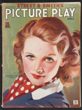 """Movie Posters:Miscellaneous, Picture Play (April, 1935). Magazine (8.5"""" X 11.5""""). Miscellaneous.. ..."""