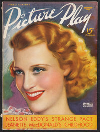 """Picture Play (December, 1936). Magazine (Multiple Pages, 8.5"""" X 11.5""""). Miscellaneous"""