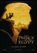 "Movie Posters:Animated, The Prince of Egypt (DreamWorks, 1998). Bus Shelter (48"" X 70"") DSAdvance. Animated.. ..."