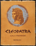 "Movie Posters:Historical Drama, Cleopatra (20th Century Fox, 1963). Autographed British CharityPremiere Program (Multiple Pages, 9"" X 11.75""). Historical D..."