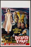 """Movie Posters:Horror, The Thing That Couldn't Die (Universal International, 1958). Belgian (13.75"""" X 21 """"). Horror.. ..."""