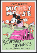 "Movie Posters:Animated, Barnyard Olympics (Circle Fine Arts, 1980s). Fine Art Serigraph (21"" X 30.75""). Animated.. ..."