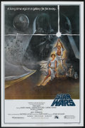 """Movie Posters:Science Fiction, Star Wars (20th Century Fox, 1977). One Sheet (27"""" X 41"""") Style A and Lobby Card (11"""" X 14""""). Science Fiction.. ... (Total: 2 Items)"""