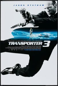 """Transporter 3 (Lions Gate, 2008). One Sheet (27"""" X 40"""") SS. Action"""