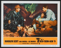 """Seven Men from Now (Warner Brothers, 1956). Lobby Cards (6) (11"""" X 14""""). Western. ... (Total: 6 Items)"""
