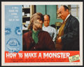 "Movie Posters:Horror, How to Make a Monster (American International, 1958). Lobby Card Set of 8 (11"" X 14"") and Stills (2). Horror.. ... (Total: 10 Items)"