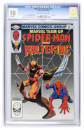 Modern Age (1980-Present):Superhero, Marvel Team-Up #117 Spider-Man and Wolverine (Marvel, 1982) CGC MT10.0 Off-white to white pages....