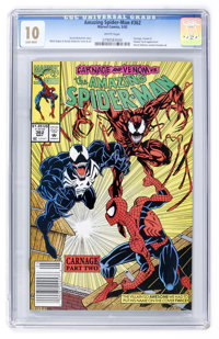 The Amazing Spider-Man #362 (Marvel, 1992) CGC MT 10.0 White pages