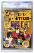 Golden Age (1938-1955):Classics Illustrated, Classic Comics #1 The Three Musketeers Original Edition (Elliott, 1941) CGC VG/FN 5.0 Cream to off-white pages....