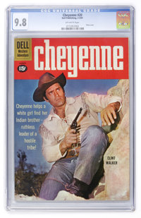 Cheyenne #20 (Dell, 1961) CGC NM/MT 9.8 Off-white pages