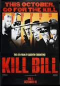 "Movie Posters:Action, Kill Bill: Vol. 1 (Miramax, 2003). British Subway (47"" X 68"") DSAdvance. Action.. ..."
