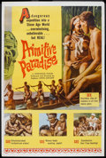 "Movie Posters:Documentary, Primitive Paradise (Excelsior, 1961). Poster (40"" X 60""). Documentary.. ..."