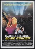 """Movie Posters:Science Fiction, Blade Runner (Warner Brothers, 1982). Italian 2 - Folio (39"""" X 55""""). Science Fiction.. ..."""