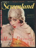 """Movie Posters:Miscellaneous, Screenland (September, 1928). Magazine (8.5"""" X 11""""). Miscellaneous.. ..."""