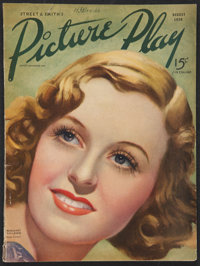 """Picture Play (August, 1936). Magazine (8.5"""" X 11.25""""). Miscellaneous"""