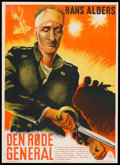 "Movie Posters:War, Hangmen, Women and Soldiers (Nordisk Films, 1935). Danish Poster(24"" X 33.5""). War.. ..."