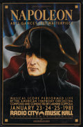 """Movie Posters:War, Napoleon (Film Society of Lincoln Center, R-1981). Poster (24.5"""" X38""""). War.. ..."""