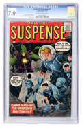 Silver Age (1956-1969):Science Fiction, Tales of Suspense #1 (Atlas, 1959) CGC FN/VF 7.0 Off-white to whitepages....
