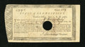 Colonial Notes:Connecticut, Connecticut Treasury-Office £9, 9 Shillings June 1, 1782 VeryFine....
