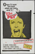 """Movie Posters:Horror, The Fly (20th Century Fox, 1958). One Sheet (27"""" X 41""""). Horror.. ..."""