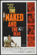 """Movie Posters:War, Naked and The Dead (Warner Brothers, 1958). One Sheet (27"""" X 41"""").War.. ..."""
