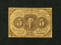 Fractional Currency:First Issue, Fr. 1230 5¢ First Issue Fine-Very Fine....