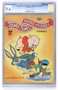 Golden Age (1938-1955):Cartoon Character, Looney Tunes and Merrie Melodies Comics #7 (Dell, 1942) CGC NM+ 9.6Cream to off-white pages....
