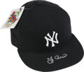 Autographs:Others, Yogi Berra Signed Cap. New Era 5950 pro model New York Yankees caphas been graced with a nice silver sharpie signature fro...
